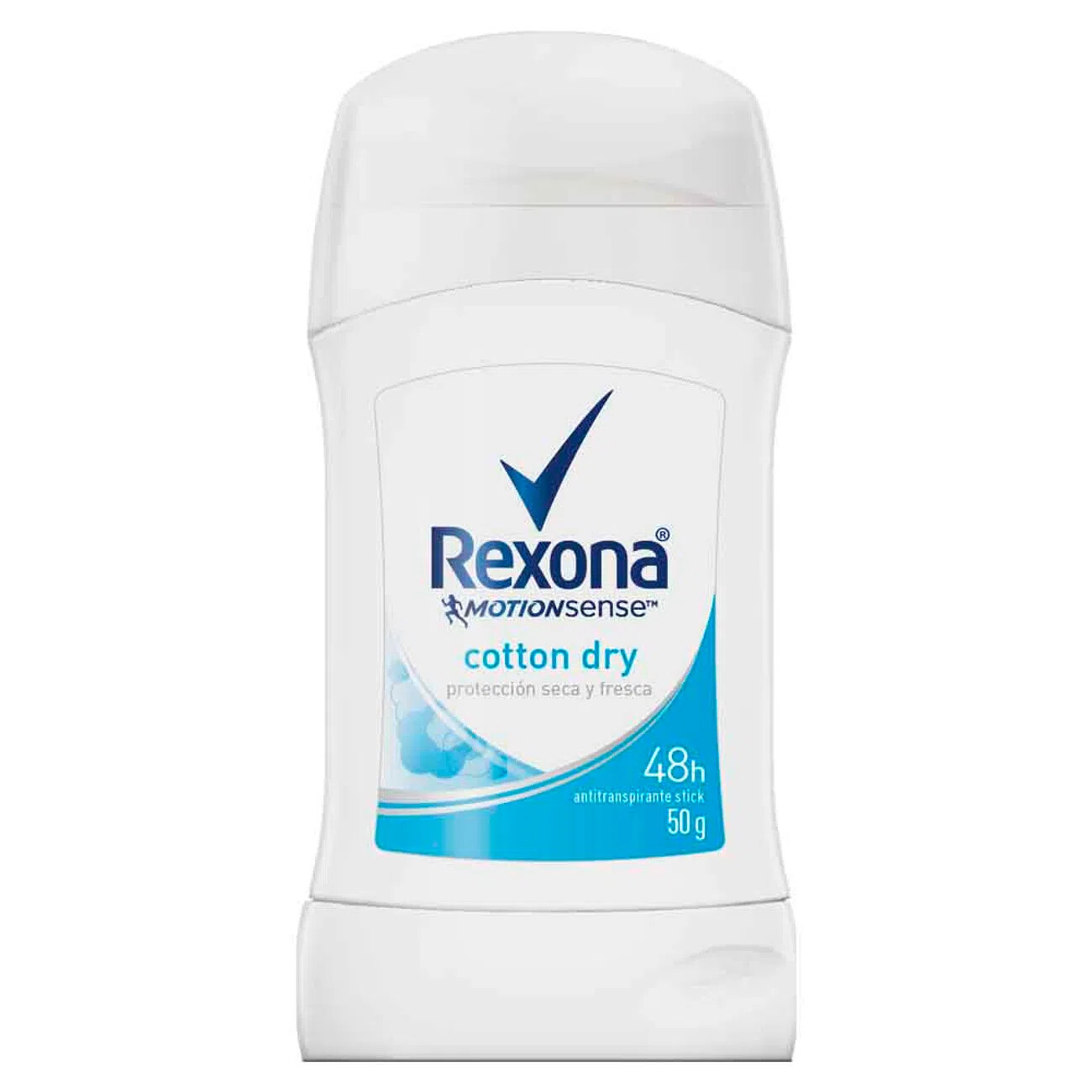 Desodorante Rexona Barra Antitranspirante Cotton 50gr