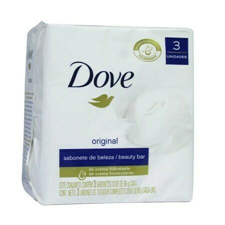 Jabon Dove Blanco 3Pack 90gr/ 3 Unidades