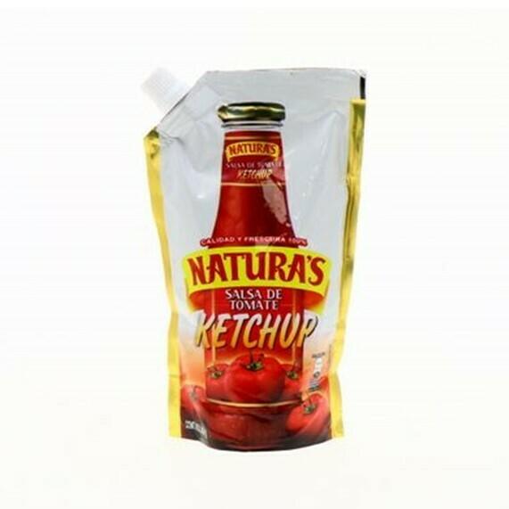 Salsa de Tomate Ketchup Naturas Doypack 400gr