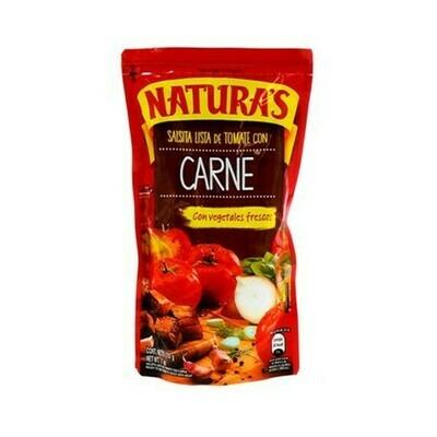 Salsa Tomate Carne Naturas 210gr