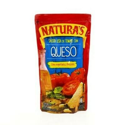 Salsa Tomate Con Queso Naturas 210gr