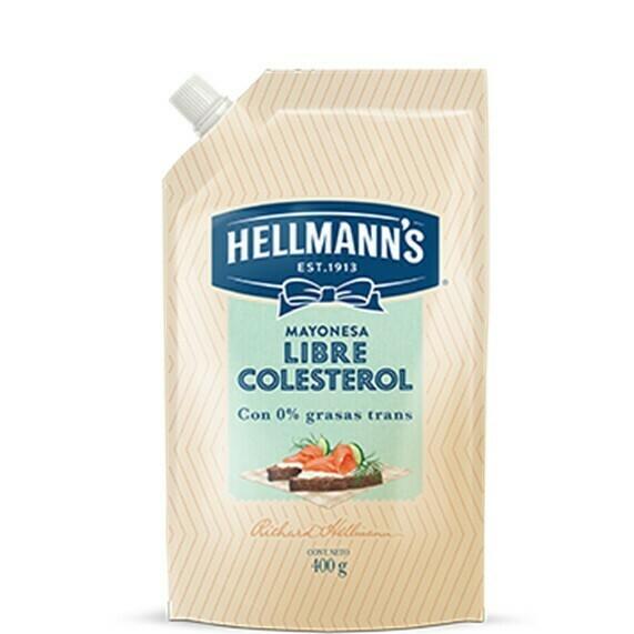 Mayoneza Hellmann's sin Colest Bajo Sodio 400gr
