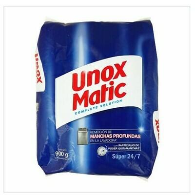 Detergente Unox Polvo Matic 900gr