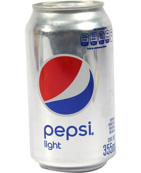 Pepsi Light Lata 355 ml