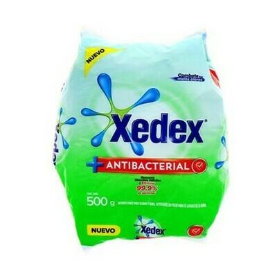 Detergente Xedex en Polvo Antibacterial 500gr