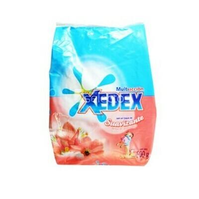 Detergente Xedex en Polvo  Suavizante B Primavera 500gr