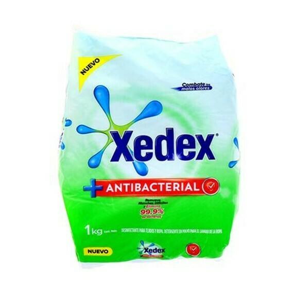 Detergente Xedex en Polvo Antibacterial 1Kg