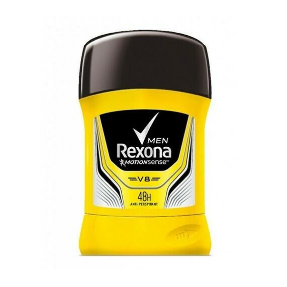Desodorante Rexona MotionSense Barra Antitranspirante V8 50gr