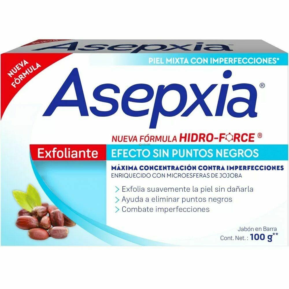 Jabon Asepxia  Exfoliante 100gr