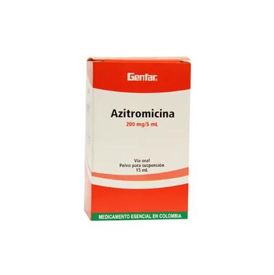 Azitromicina-Gf 200mg/5ml 15ml