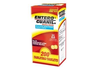 Enteroguanil Adulto 100mg 200 Tabletas