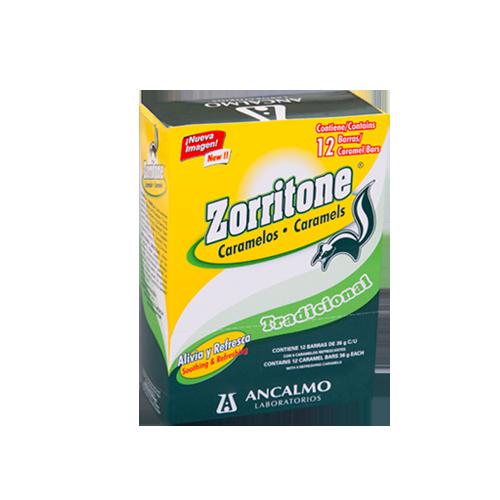 Zorritone Caramelo 12 Barras