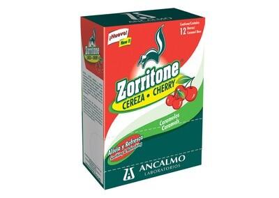 Zorritone Caramelo Cereza 12 Barras