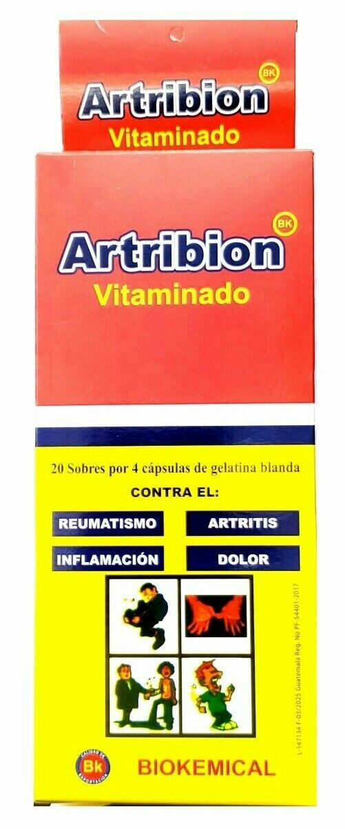 Artribion Vit 20 Sobres x 4 Capsulas