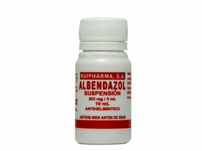 Albendazol-SP 200mg/5ml 10ml
