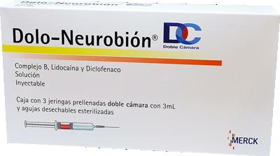 Dolo-Neurobion DC 1 Jeringa Prellenada ml