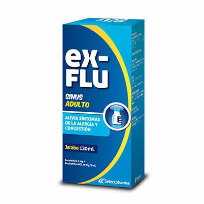 Ex-Flu Sinus 5-20mg/5ml 120ml