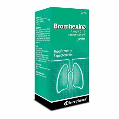 Bromhexina -SP 4mg/5ml 120ml