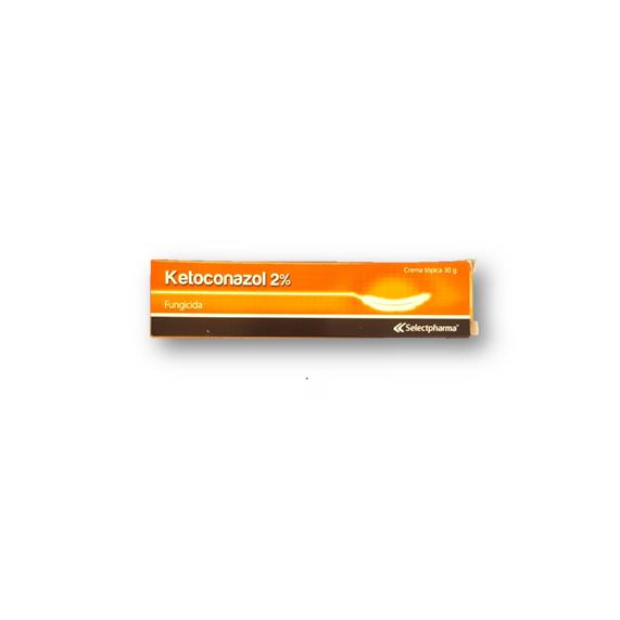 Ketoconazol-Fungicida Crema Topica 30gr