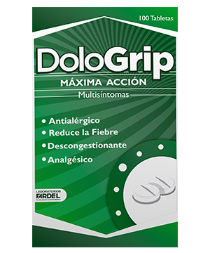 Dologrip Disp. x 100 Tabletas