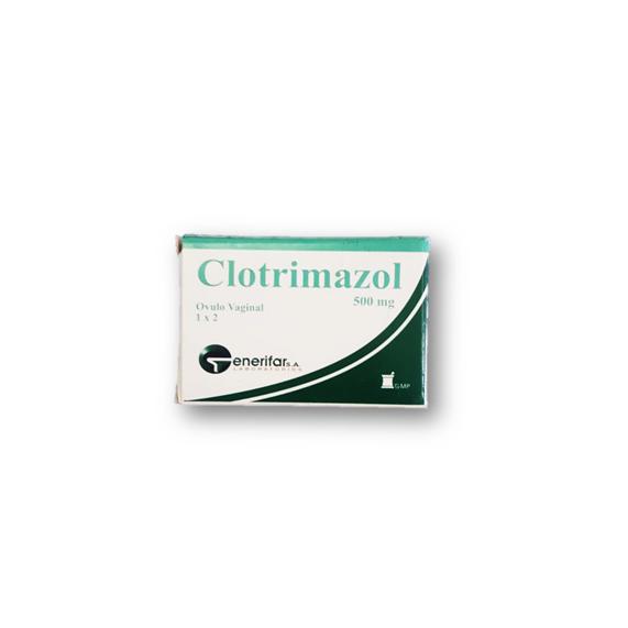 Clotrimazol-G, 2 Ovulos 500mg