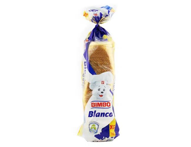 Pan Molde Blanco Bimbo Extra Grande 720gr