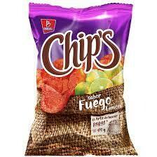Chips Barcel Fuego 170gr