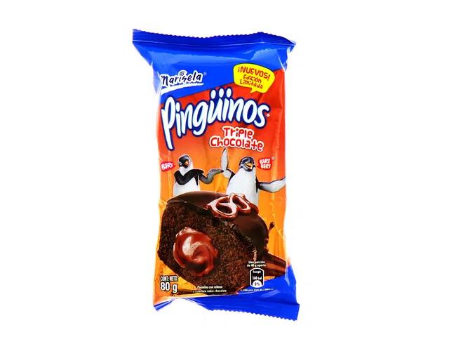 Pinguinos Marisela Triple Chocolate 80gr
