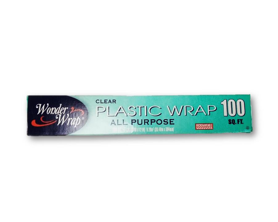 "Papel Filmico Wonder Wrap P/Comida 12"" 100 pies"