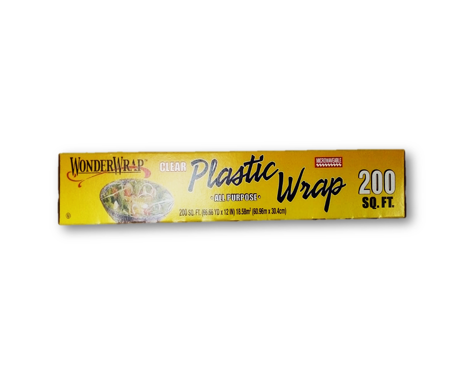 "Papel Filmico Wonder Wrap P/Comida 12"" 200 pies"