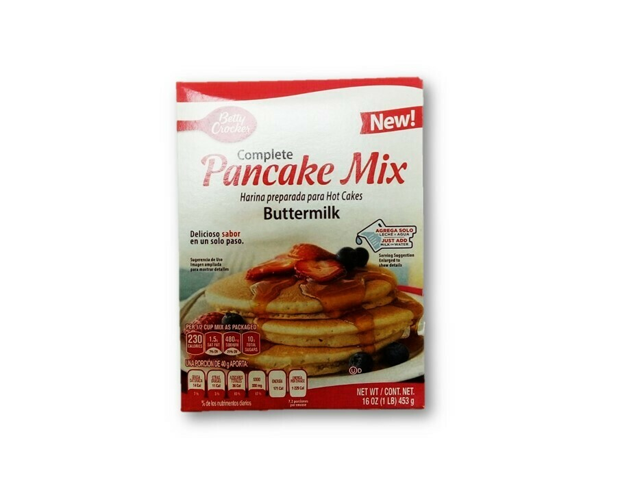 Harina para Pancake Betty Crocker Mix Buttermilk 453gr
