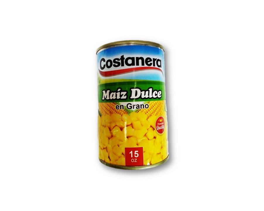 Maiz dulce en Grano Costanera 15oz