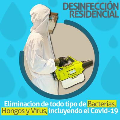 Servicio de Desinfección de Bioseguridad - Preventivo, Residencial y Oficinas.
