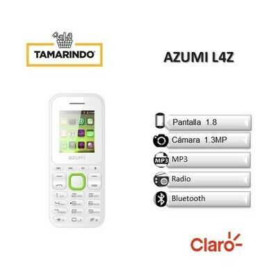 AZUMI L4Z Blanco (P)   INCLUYE RECARGA DE L. 50