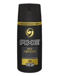 Desodorante Axe Body Spray Gold Temptation 97gr/150ml