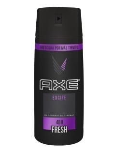 Desodorante Axe Aerosol Body Spray Excite 97gr/150ml