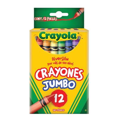 Crayones Jumbo Crayola 12 unidades