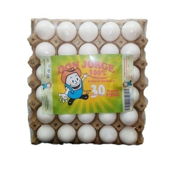 Carton de Huevos Don Jorge - 30 Unidades