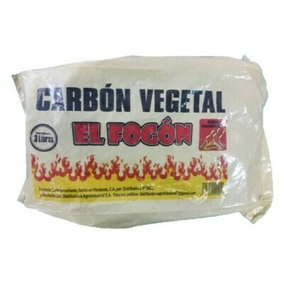 Carbon Fogon para Asados 3Lb