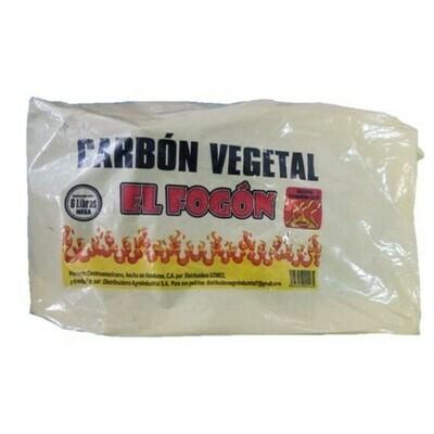 Carbon Fogon para Asados 6Lb