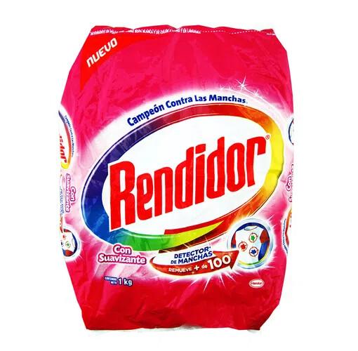 Detergente Rendidor en Polvo con Suavizante 1000g