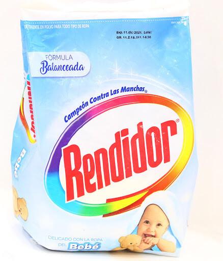 Detergente Rendidor en Polvo Bebe 500g