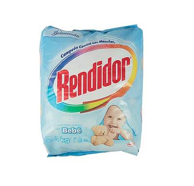 Detergente Rendidor en Polvo Bebe 1000g