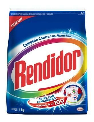Detergente Rendidor en Polvo Azul 1000g