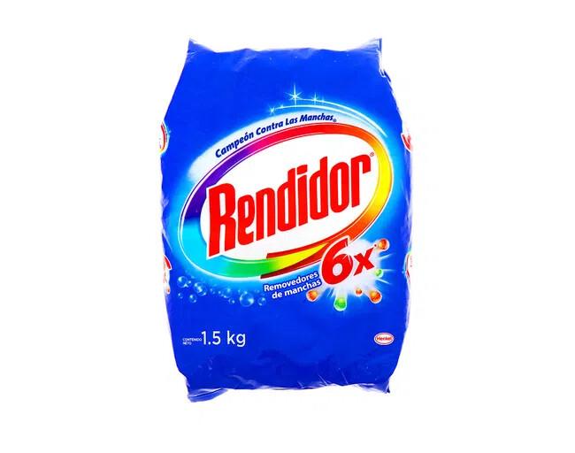 Detergente Rendidor en Polvo Azul 1500g