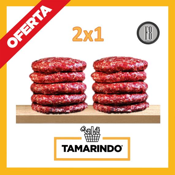 Promoción 2x1 llévate 2 Paquetes de Burger Patties de 5 Tortas Aprox 2.3 Lbs (Congelado)