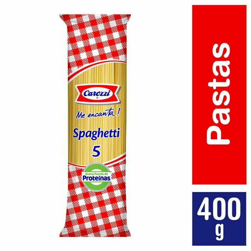Spaguetti Carozzi 400 grs