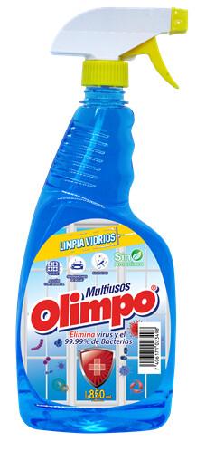 Limpiavidrios Desinfectante Olimpo con Atomizador 850ml
