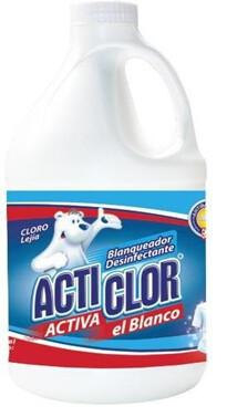 Cloro Lejia Acticlor Galon