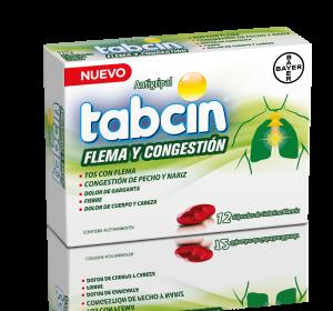 Tabcin Antigripal Flema Y Congestion Caja 12 Capsulas